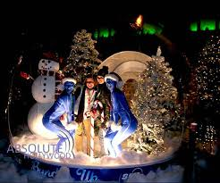large snow globe for props displays