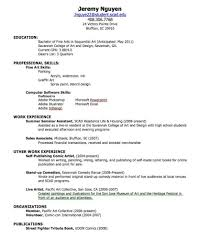 canadian high student resume exles resume exles for highschool students canada college sles