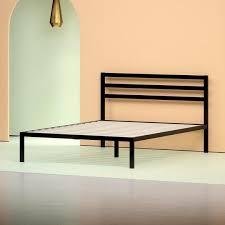 Metal Platform Bed Frame Shop Platform Beds Zinus