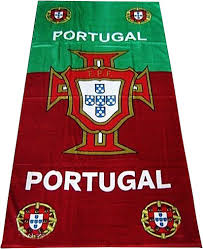 Portugal Football Flag Towelz Extra Large Cotton Bath Beach Towel Portugal Football