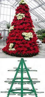 poinsettia tree best 25 poinsettia tree ideas on deco mesh christmas