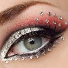 fancy dress costume jewels eye stickers from beauteshoppe on etsy