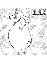 44 coloring pages madagascar images