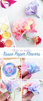 tissue paper flowers printable instructions make easy tissue paper flowers tissue paper flower and easy