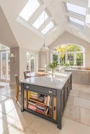 best 20 vaulted ceiling kitchen ideas on pinterest vaulted kitchen island breakfast bar seating island storage limestone floor pitched roof extension
