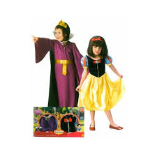 disney snow white evil queen dress up costume set age 8 10 large