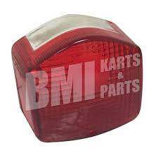 tail light lens for honda c70 u0026 cb125s mc424l bmi karts and