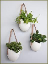 modern hanging planters modern flower pots home design ideas