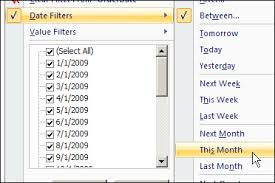 Change Pivot Table Data Range Pivot Table Date Filters Excel Pivot Tablesexcel Pivot Tables