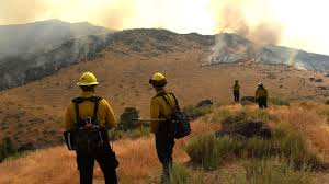 Wildfire Colorado News by After A Wet And Snowy Winter Wildfires Rage Across The West La