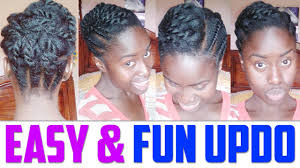 dressy hairstyles for medium length hair easy updo for short to medium length hair natural hairstyle youtube