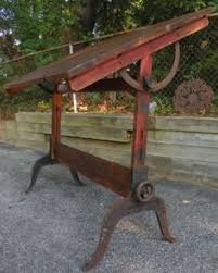Iron Drafting Table Hamilton Cast Iron Antique Drafting Table Furniture Pinterest