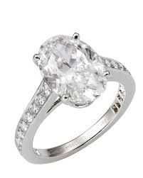 oval cut engagement rings oval engagement rings for the to be martha stewart weddings
