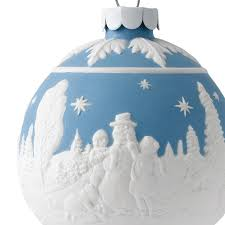 wedgwood building a snowman ornament wedgwood