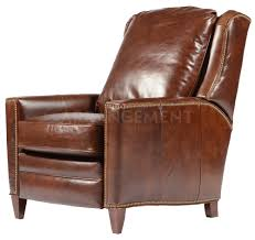 Leather Club Chair Irving Leather Recliner Our Version Of The Classic Club Chair