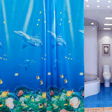 Fish Bathroom Accessories by Compare Prices On Fish Shower Curtain Online Shopping Buy Low