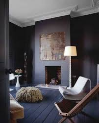 black interior paint wall and floor with white ceiling and