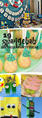 Halloween First Birthday Party Ideas by Best 25 Spongebob Party Ideas Ideas On Pinterest Sponge Bob