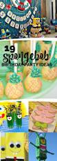 Halloween First Birthday Party Ideas Best 25 Spongebob Party Ideas Ideas On Pinterest Sponge Bob