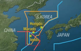 East China Sea Map by South Korea Unveils It U0027s Own Air Defense Zone Overlapping China U0027s