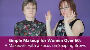top hairstyles for women over 60 simple makeup for women over 60 a makeover with a focus on
