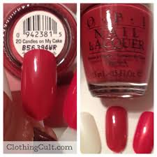 opi nail polish 20 candles on my cake swatch clothingcult com