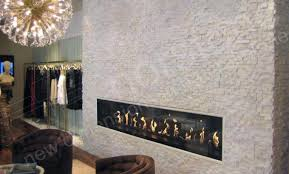 Stone Wall Tiles For Living Room White Quartz Stacked Stone Veneer For Feature Walls
