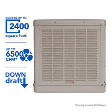 Decorative Coolers For The Patio by Champion Cooler 6500 Cfm Down Draft Roof Evaporative Cooler For