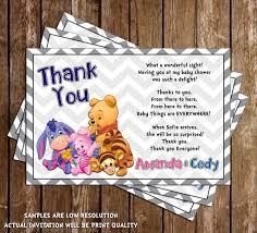 Winnie The Pooh Invitation Cards Novel Concept Designs Winnie The Pooh Gender Neutral Baby