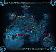 Swtor Map Star Wars Tor Planetary Guide Ord Mantell