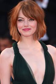 short hairstyles with side fringes and bangs women medium haircut