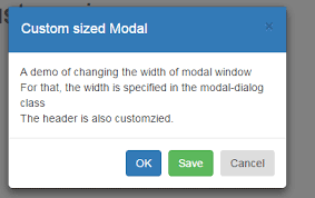 Bootstrap Table Width How To Change Bootstrap Modal Width And Height 3 Examples