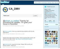 customer service the california department of motor vehicles
