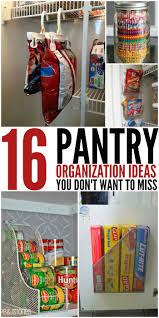 Kitchen Organization Hacks by 16 Pantry Organization Ideas That Your Kitchen Will Love Pantry