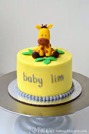 giraffe baby shower cakes i heart baking giraffe baby shower cake