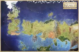 Upside Down World Map The World Of Game Of Thrones As Ireland And Britain 1205x1220