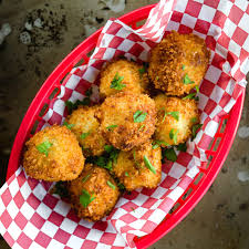 f is for fried mac n cheese balls