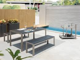 3 Piece Patio Dining Set - pangea home breeze 3 piece dining set u0026 reviews wayfair