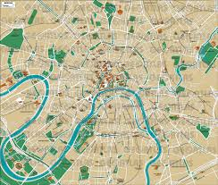 City Maps Geoatlas City Maps Moscow Map City Illustrator Fully