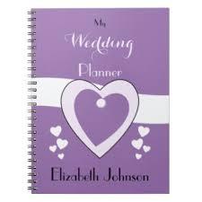 Personalized Wedding Planner Wedding Notebooks U0026 Journals Zazzle Com Au