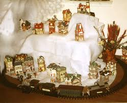 decorating ideas for christmas villages best ideas about