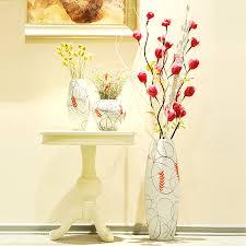 Floor Vase Flowers Painted Contemporary Floor Vases U2014 Contemporary Homescontemporary