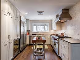 narrow kitchen with island amazing narrow kitchen island 5 jpg
