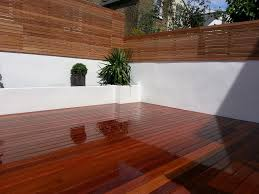 modern garden design clapham london blog hardwood deck screen