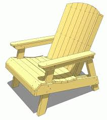 How To Build A Wood Patio by Lawn Chair Plans