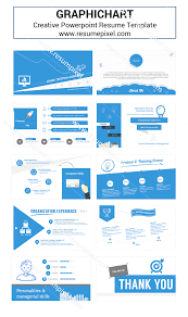 Powerpoint Resume Cover Letter Resume Powerpoint Template Infographic Resume