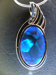 black opal black opal pendant and diamonds jewellery makers australia