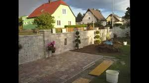 betonsteinmauer selber machen bauen steinmauer anleitung