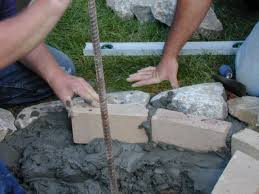How To Build A Stone Firepit by How To Set Stones For A Fire Pit How Tos Diy