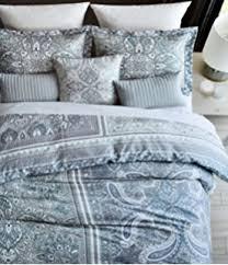 amazon com tahari gold and white bohemian tapestry bedding crisp